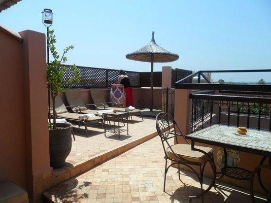 Riad Dar Beldia: roof terrace