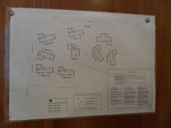 Villas Cala Galdana: Villas plan