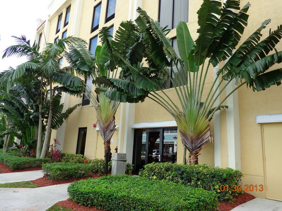 BEST WESTERN PLUS Kendall Hotel & Suites: Beautiful Landscaping