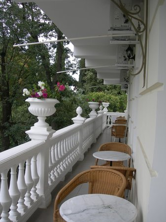 Hotel Tea Hill: Милая терраска...