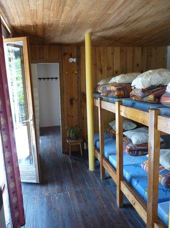 Gîte de Méolans : le dortoir