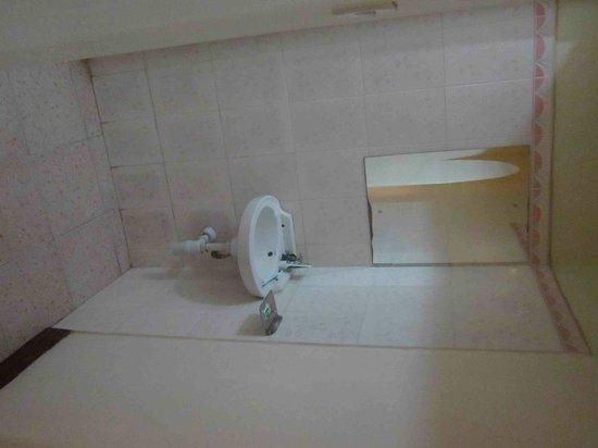 Prestige Holiday Resort : Abgetrennter Waschbeckenbereich des Apartments