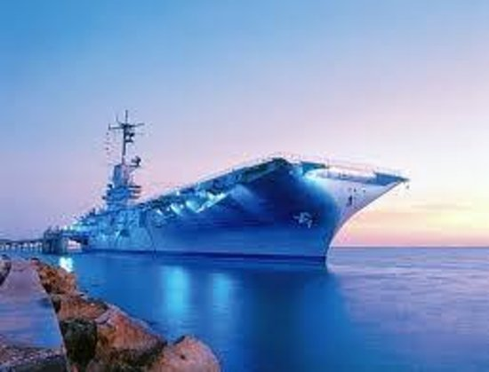 Comfort Suites Near Texas A&M - Corpus Christi: USS Lexington