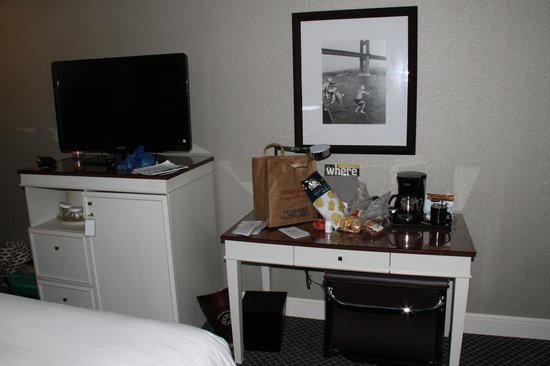 BEST WESTERN PLUS The Tuscan: room with my junk