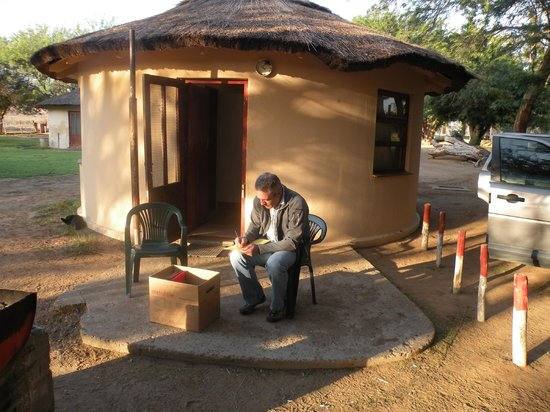 Brandkaros Holiday Resort: outside the rondawel