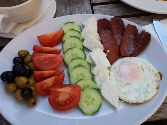 Cafe on the corner: Turkish Breakfast!