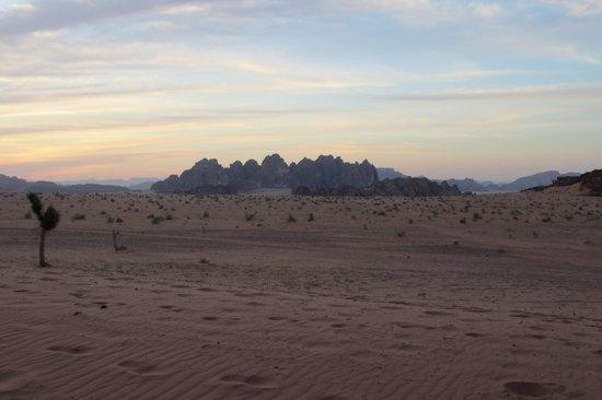 Rahayeb Desert Camp: Nach Sonnenuntergang