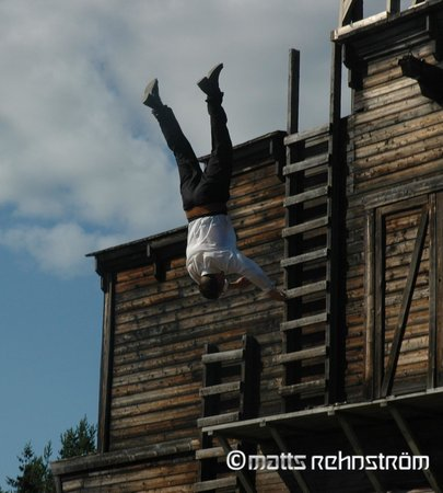 Boden, Sverige: Stunt trick