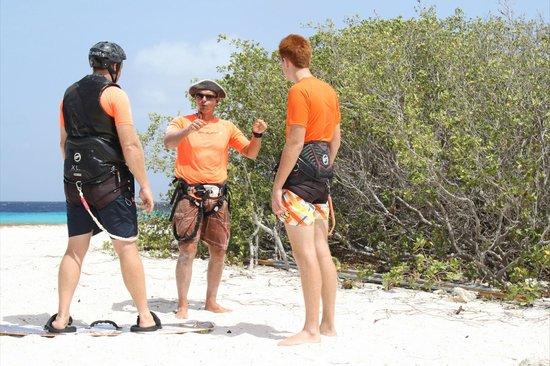 Bonaire Kiteschool : More instructions