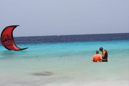 Bonaire Kiteschool : Instructions from Lars