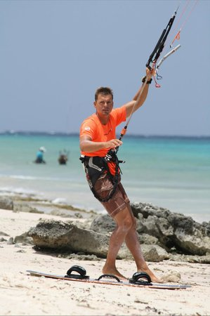 Bonaire Kiteschool : Lars