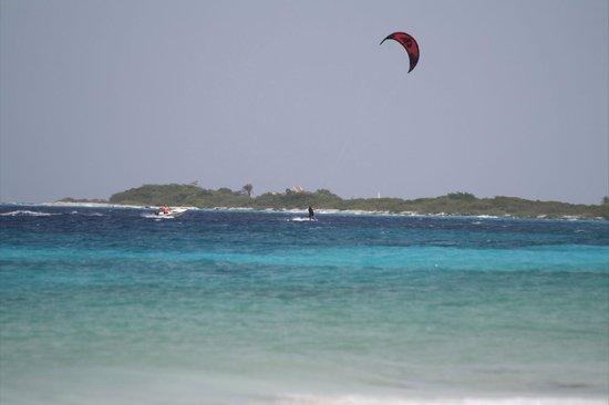 Bonaire Kiteschool : Me Kiting
