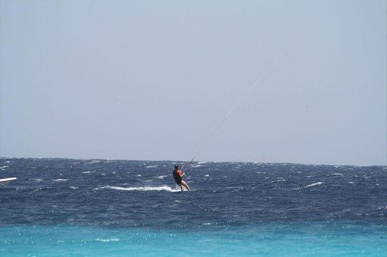 Bonaire Kiteschool : My first miles........ of many