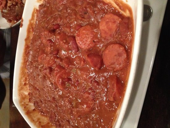 Fezzo's Seafood & Steakhouse: Red Beans dish- single serving! Enough to feed a fam!