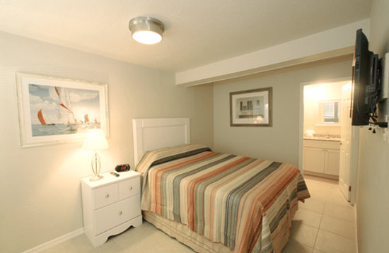 Island Time Inn : Comfy Queen Beds