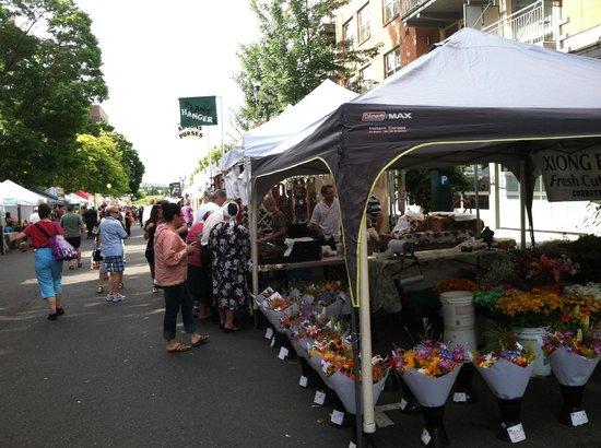 Esther Short Park: Vancouver Market