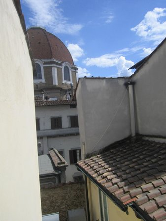 Globus Hotel: View from room 307