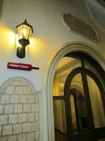 Bodega Luigi Bosca Familia Arizu: centro de recepção dos visitantes