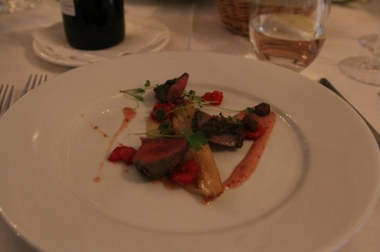 Bishop's Dining Room & Wine Bar: The pigeon first course