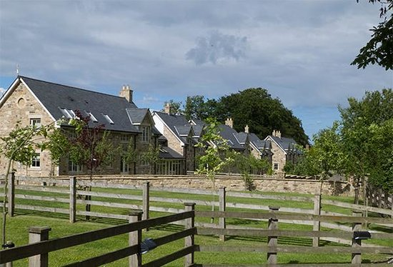 Ellingham Hall: Some of the cottages