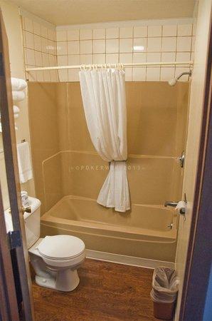 Munising Motel: Bathroom