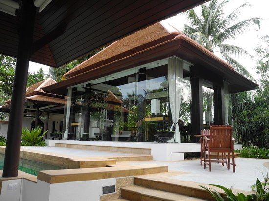 Banyan Tree Spa Sanctuary: Villa mit extra Wohnzimmer