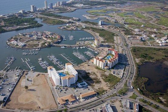 Isla Mazatlan Golden Resort: Vista Aerea/Aerial View