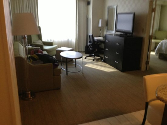 Hampton Inn & Suites Chicago - Downtown : Suite with sofa bed