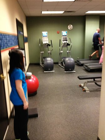Hampton Inn & Suites Chicago - Downtown: Fitness Room