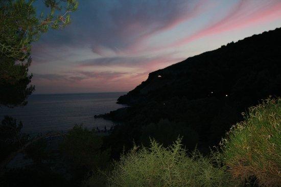 Villaggio Camping Porticello: Tramonto mozzafiato