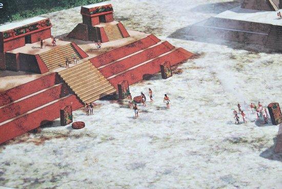 Ruinas de Uaxactún: rotolo plaza central