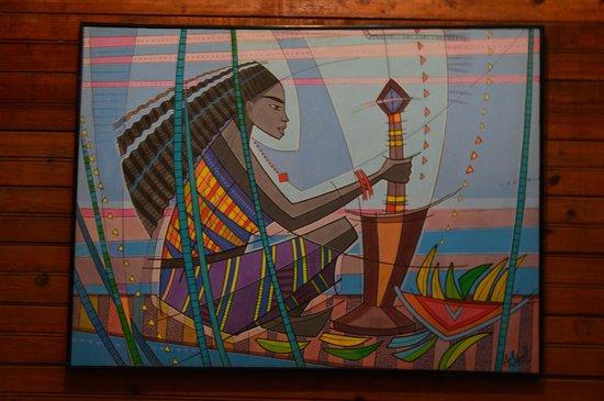 Casa Museo Judith Kain: Obras de arte dentro del Hotel