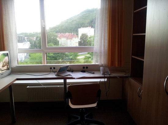 Kolping Campus Krems: Blick gen Fenster