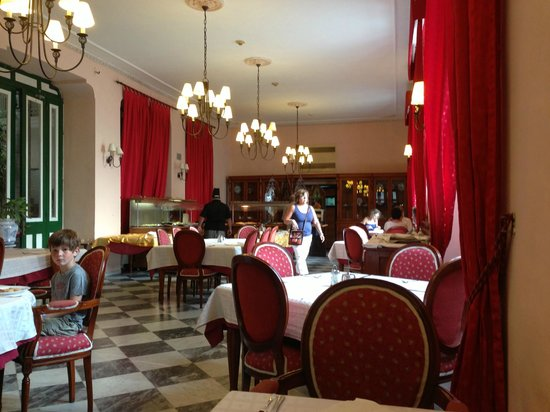 Hotel Florida: comedor