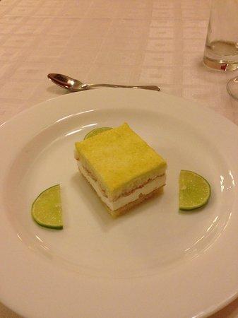 Hotel Florida: Postre:  Pie de limón