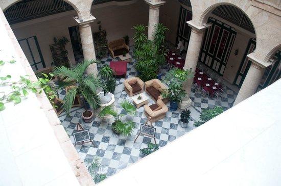 Hotel Florida: vista del lobby