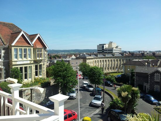Queenswood Hotel: view from room 1
