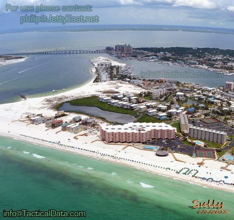 Located On Holiday Isle In Destin Florida The Gulf