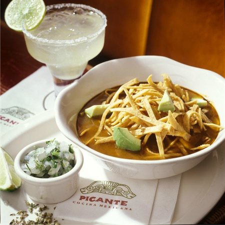Even the gods said it was good: Sopa Azteca—chicken soup in chile broth