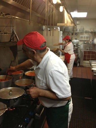 Mario's Pizzeria: Owners Janet and Ignazzio