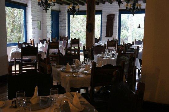 Hacienda Pinsaqui: Restaurant