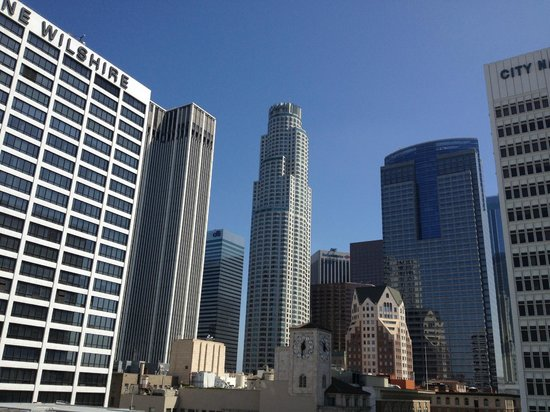 The Los Angeles Athletic Club: View from Rooftop