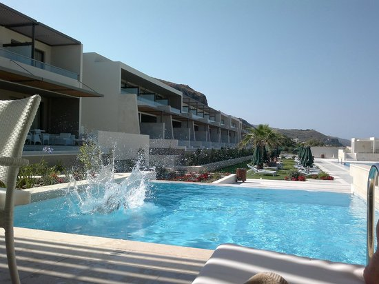 Avra Imperial Hotel: The private pool