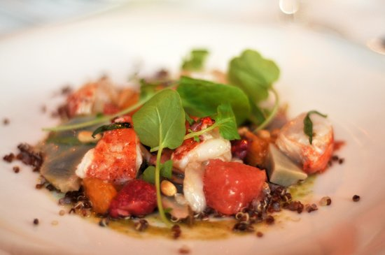 George Restaurant: lobster