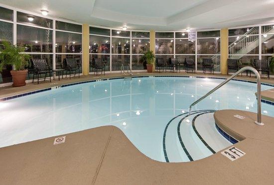 Indoor Pool Picture Of Hampton Inn Myrtle Beach Broadway At The Beach Myrtle Beach