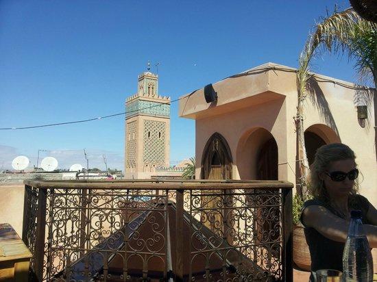 misting system - Picture of Kasbah Cafe, Marrakech - TripAdvisor
