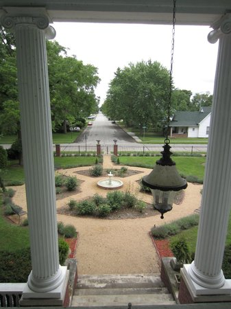 Ruddick-Nugent House: View from Lizzie's Room balcony.