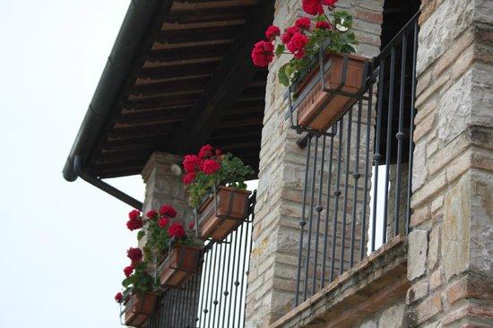 La Fattoria dei Montanari : il balcone