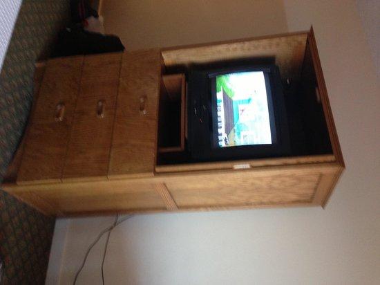 Wyndham Garden Ventura Pierpont Inn : Older tv