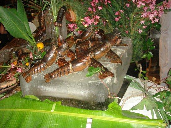 Cornelia Diamond Golf Resort & Spa: As many lobsters as you wanted.